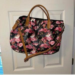 Cavalcanti Shoulder Bag Floral Multi-color Satchel